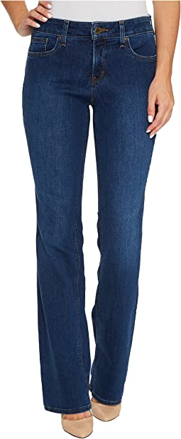 Billie Mini Bootcut Jeans in Cooper