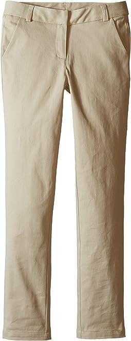 Nautica Kids - Straight Leg Stretch Twill Pants (Big Kids)