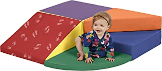 ECR4Kids Softzone Little Me Play Wall Climb and Slide, Primary (6-Piece)