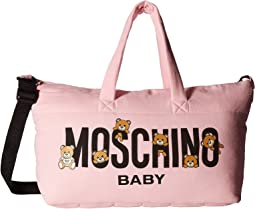 Moschino Kids - Teddy Bear Logo Diaper Bag & Changing Mat