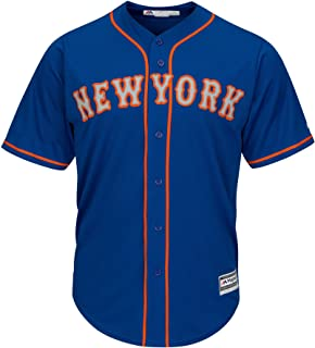 New York Mets Replica Cool Base Home Jersey by Majestic 2