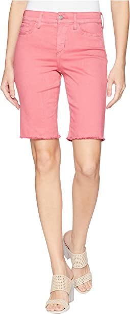 Briella Shorts w/ Fray Hem in Begonia