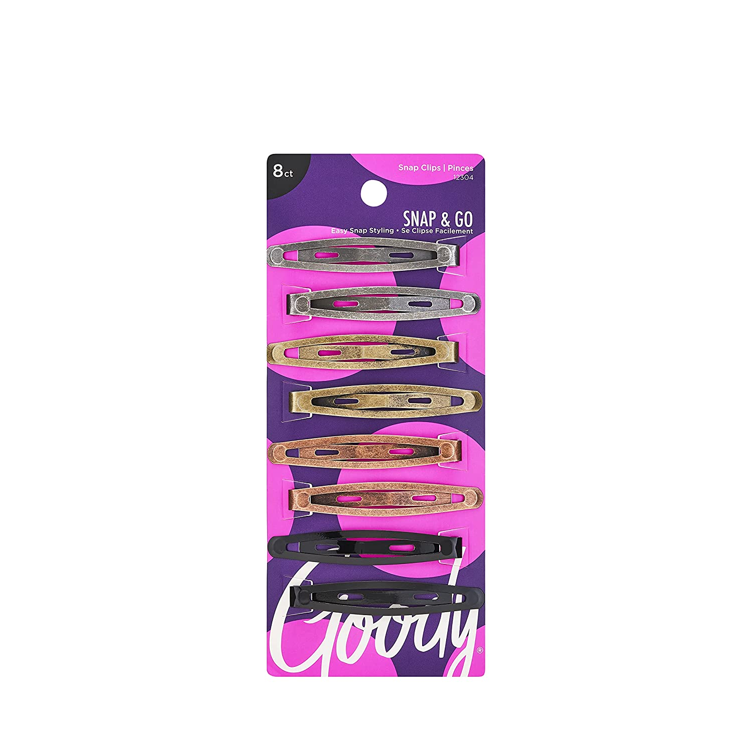 Goody Oval Cheap mail order specialty store Metal Contour Ranking TOP5 Hair Clips 1 8-Count May Colors Vary