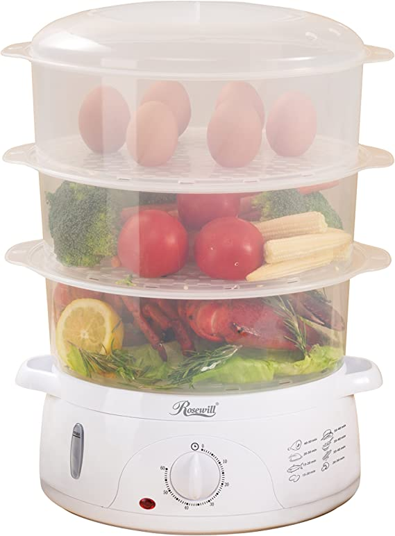 Rosewill Electric Food Steamer 9.5 Quart