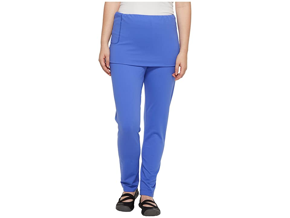 Independence Day Clothing Co Pull-On Skirted Leggings Reversible Front/Back (Wild Blue) Women