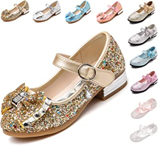 720dc0e7edf4 Kikiz Little Girl s Adorable Sparkle Mary Jane Princess Party Dress Shoes