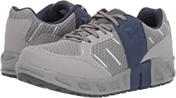 Grey Mesh/Navy PU