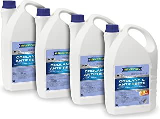 Ravenol J4D2023-2-04 HTC Coolant Antifreeze Hot Climate Premix MB 325.0 (G11) (5L, Case of 4)