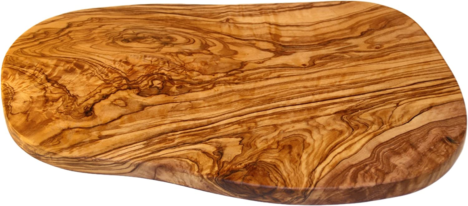 Cucina Priolo - Unique Natural Handcrafted Olive Wood Cheese Board Cutting Board