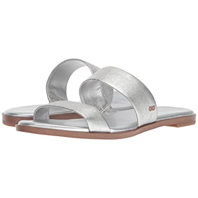 Cole Haan Findra Sandal II (Silver Leather) Women