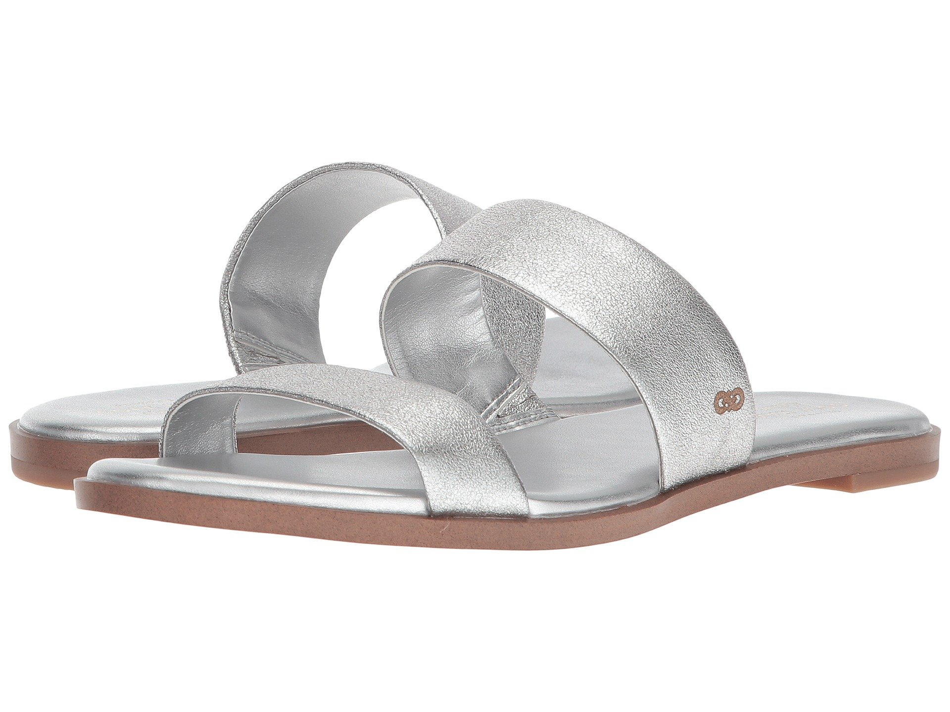 Findra Sandal - Silver Leather