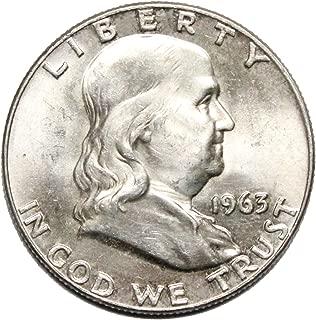 1963 D Franklin Half Dollar Half Dollar Brilliant Uncirculated