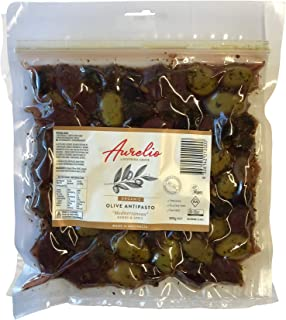Aurelio Organic Mediterranean Olives 300 g