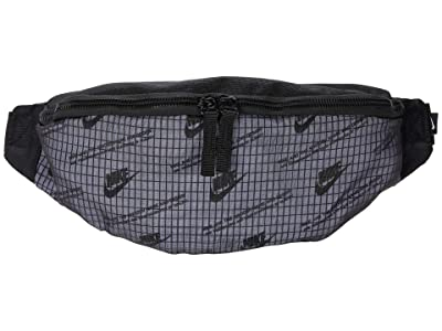 Nike Heritage Hip Pack (Black/Black/White Multi Snake) Handbags