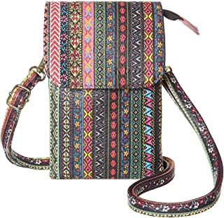 Gray and Yellow Handbag Small Zipper Purse Teen or Tween Girls Floral Bag Fabric Bag for Women Crossbody Purse