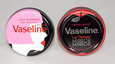 Vaseline Lip Therapy Limited Edition Mix Lulu Guinness +Mirror Mirror 20Gm (Mix Vaseline Limited Edition Lip Therapy Lulu Guinness +Mirror Mirror, 12X20Gm)