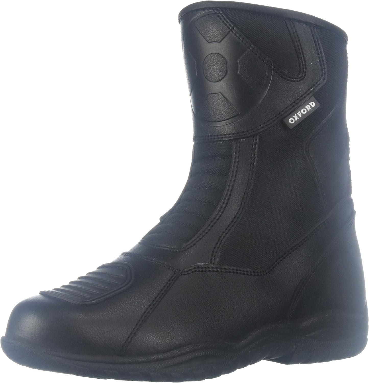 Oxford Cheyenne Short Men's Leather Waterproof Motorcycle Boots