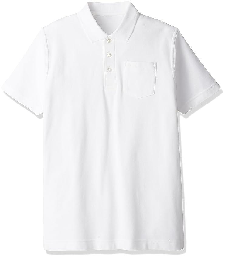 縮約風景触手(キャッチ)Catch 綿100% 男児用 半袖ポロシャツ