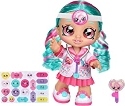 Kindi Kids Fun Time 10 Inch Doll, Dr Cindy Pops with Stethoscope and Shopkins Inspired Lollipop| Changeable Clothes and Re...