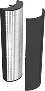 Tower Air Purifier Replacement Filter –True HEPA Filter & Active Carbon Pre-Filter Compatible with PureZone Elite (PEAIRTWR)