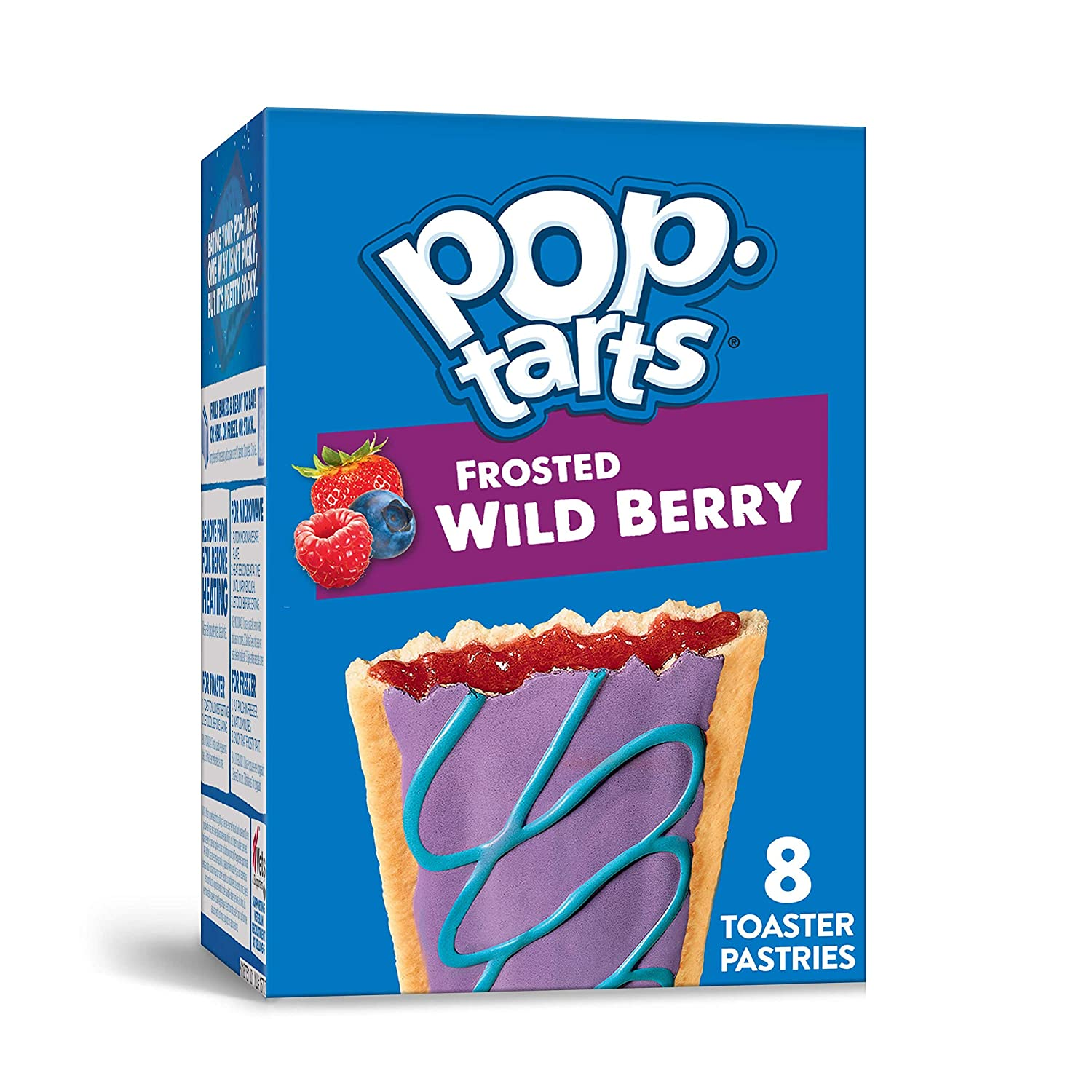 half Pop-Tarts Toaster Pastries Breakfast Foods USA in Cheap mail order sales F Baked the