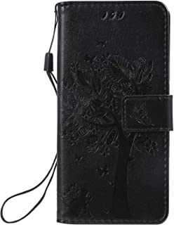 LODROC Lederen Portemonnee Case voor Galaxy A10e, [Kickstand Feature] Luxe PU Lederen Portemonnee Case Flip Folio Cover me...