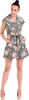 ADDYVERO Cotton Shirt Dress