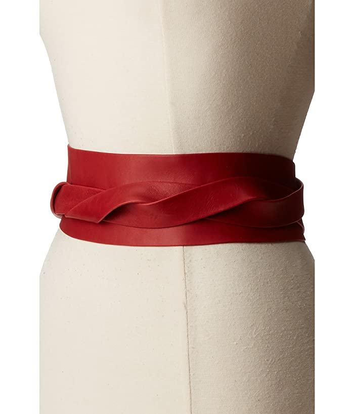 ADA Collection Obi Classic Wrap Belt (Upsdell Red) Women