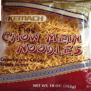 Kemach Fine Chow Mein Noodles 10 Oz. Pack Of 3.