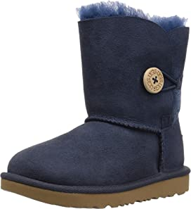 e6090d3fc55 UGG Kids Mini Bailey Bow II (Toddler/Little Kid) | Zappos.com