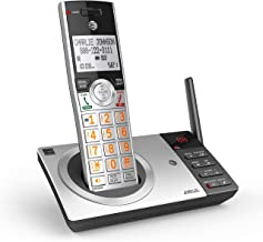$31 » AT&T DECT 6.0 Expandable Cordless Phone with Answering System, Silver/Black with 1 Handset (CL82107) (Renewed)