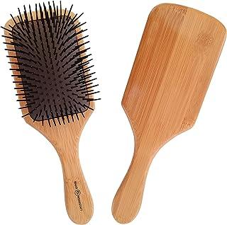 Haarwerkstatt - Professionell hårborste för kvinnor och män – den optimala träborsten för ditt hår
