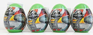 BBB Jurassic World surprise eggs with toy -pack of 4 eggs - 4 x 10g