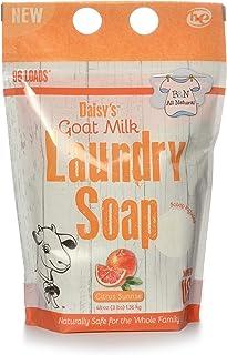 Brooke & Nora At Home, Daisy's Goat Milk Laundry Soap, Citrus Sunrise, 96 Loads