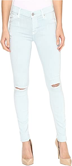 Nico Mid-Rise Skinny w/ Distress in Leaflet Destruct