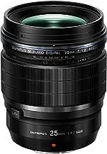 Olympus M.Zuiko Digital ED 25 mm 1:1.2 Pro Lens for Camera - Black