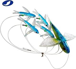 flying fish swim