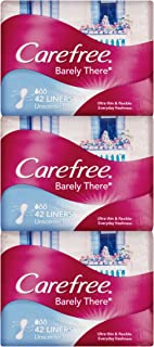 Carefree Barely There Liners Triple Pack 3x42 Count