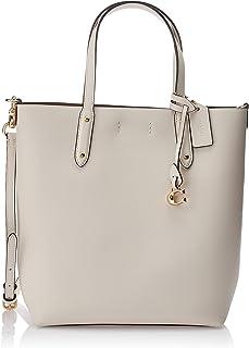 حقيبة كبيرة توتس للنساء من كوتش، باللون الابيض (ذهبي/تشوك) - طراز 78217 GD/HA