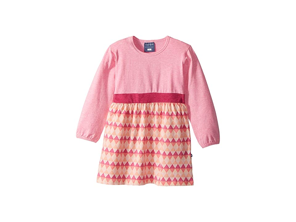 Toobydoo Geo Pink Play Dress (Infant/Toddler) (Heather Pink/Multi Pink) Girl
