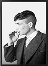 Artwork frame for Peaky Blinders Netflix with black wooden frame, it can be held in the wall