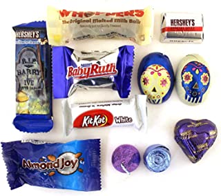 LaetaFood Pack, Halloween Chocolate Candy Assortment - Rolo, Kisses, Hershey's Special Dark, Kit Kat, Whoppers, Baby Ruth and More (3 Pounds Bag)