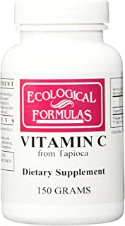 Ecological Formulas - Vitamin C from Tapioca 150 gms [Health and Beauty]