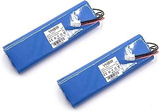 vhbw 2X Batería Compatible con Husqvarna Automower 210AC, 210C, 220AC, 230ACX, 260ACX, G2 (2004-2006), SH. cortacésped (NiMH, 2000mAh, 18V)