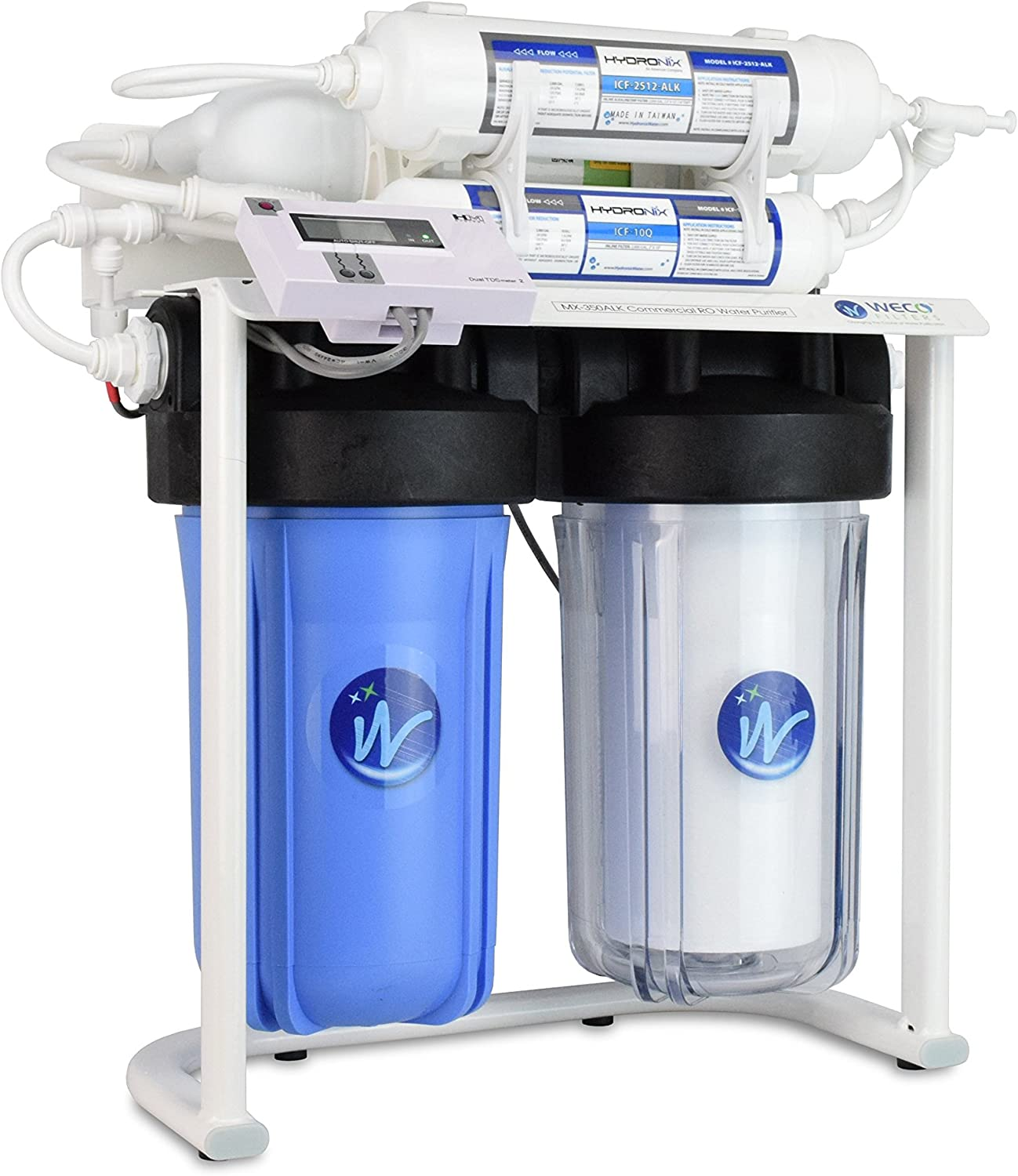 WECO MX-350ALK Commercial 定番スタイル RO Water Purifier 350 蔵 Per - Da Gallons
