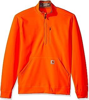 Carhartt Men's Force Extremes Mock-Neck Half-Zip Sweatshirt (Regular and Big & Tall Sizes)