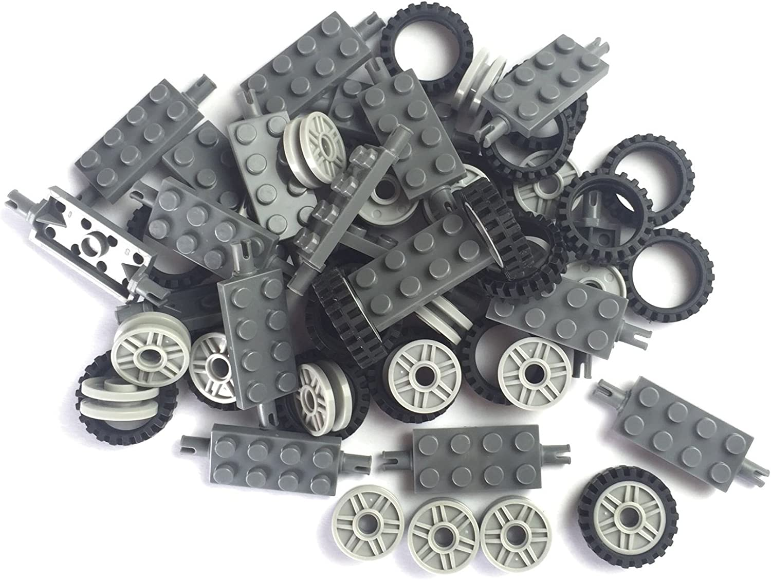 24 mm outlet X 7 Tire Wheel and Axles Pieces Sales for sale Building Long -50 Brick
