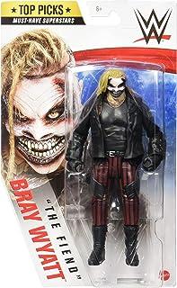Mattel WWE Top Picks The Fiend Bray Wyatt Action Figure 6 در قابل جمع شدن و هدیه برای سنین 6 سال به بالا