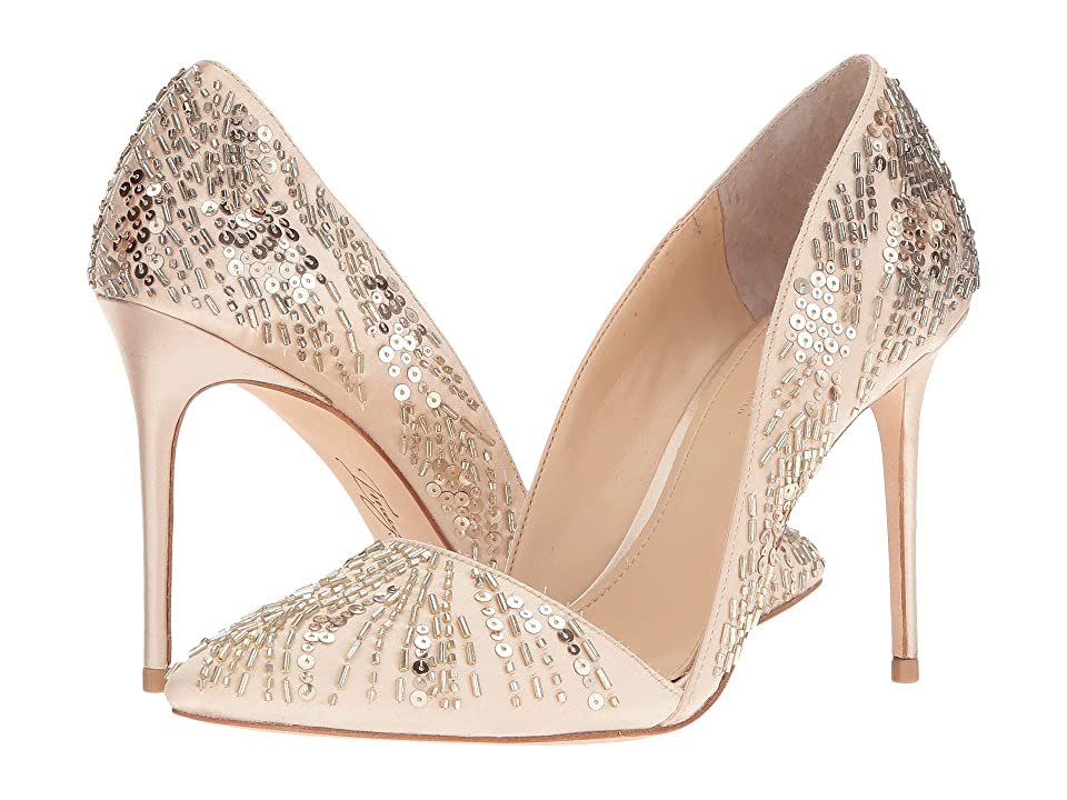 Imagine Vince Camuto Ova (Soft Gold Delux Satin) High Heels