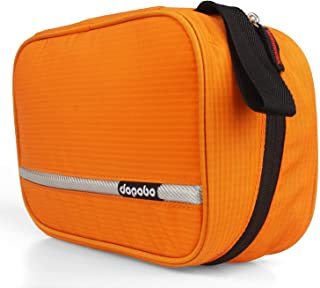 Dopobo Travelling Toiletry Bag Portable Hanging Water-Resistant Wash Bag for Travelling, Business Trip, Camping (orange)